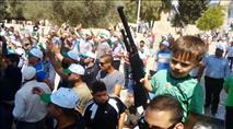 הסתה לאימהות הערביות: העובר שלכם יהיה שהיד
