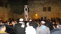 צפו: אלפים הגיעו לציון דוד המלך