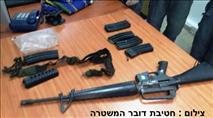 נמשכים החיפושים אחר ערבי שגנב נשק מחיילת