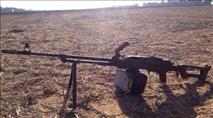 """שני מקלעי מא""""ג נגנבו בגבול הצפון"""