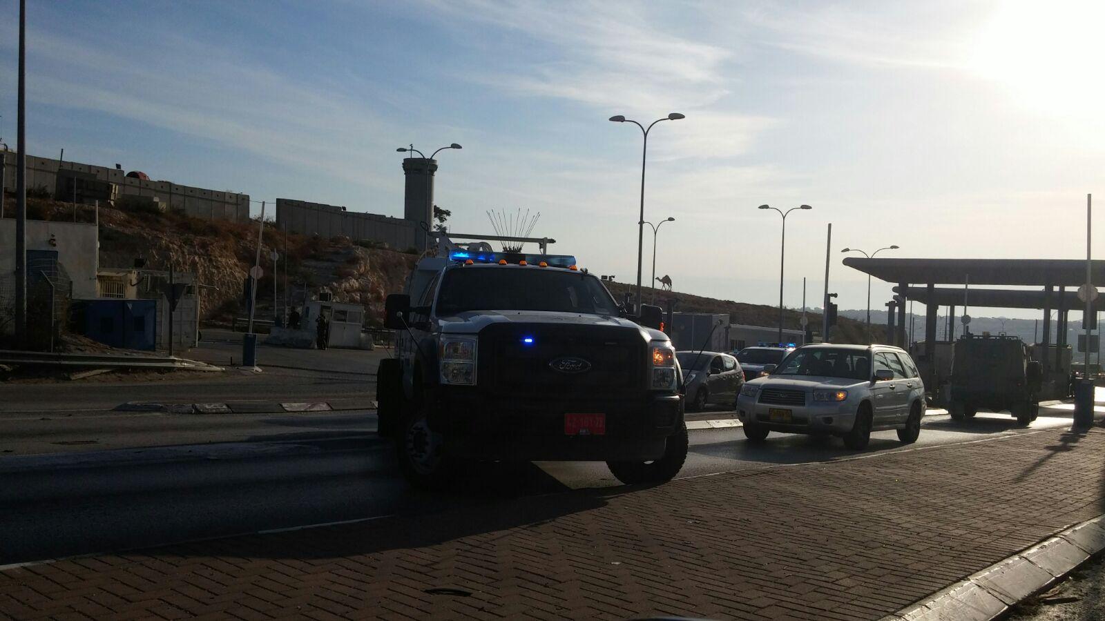 ניסיון פיגוע דקירה סמוך לירושלים. אין נפגעים