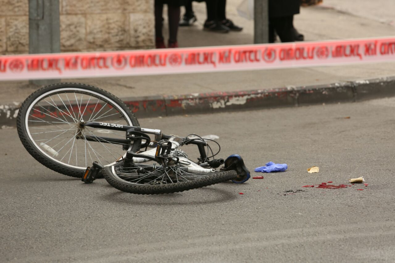 תאונת אופניים  (הלל מאיר TPS)
