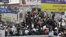 רבבות באומן לקראת ראש השנה - צפו בריקודים