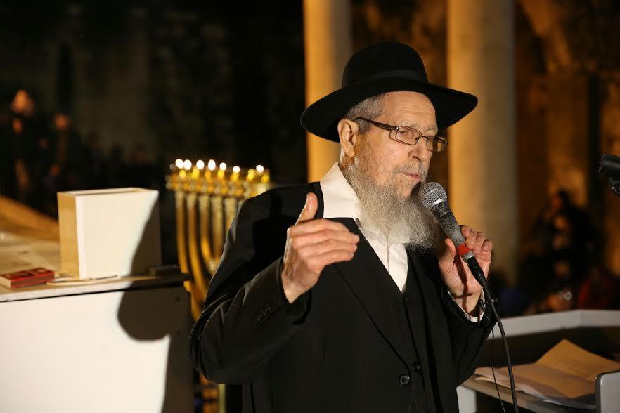 הרב ישראל אריאל (מכון המקדש)