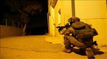 """שכם: חילופי אש בין צה""""ל לשוטרים פלסטיניים"""