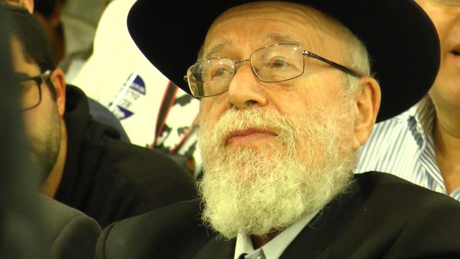 הרב דב ליאור (צילום: יהודה פרל)