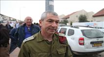 מורחקים מנהליים נעצרו ליד ביתו של אלוף הפיקוד