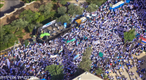 עשרות אלפים ב'ריקודגלים ' בירושלים