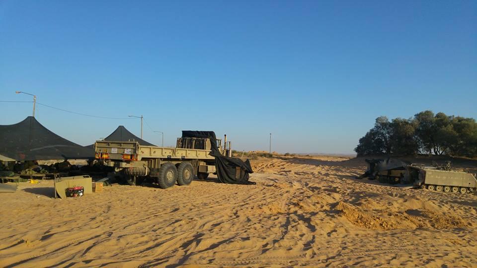 מאהל צבאי בצאלים צילום: יגאל דילמוני