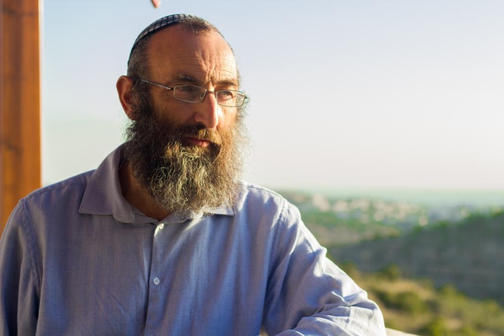 הרב פרל (צילום: יהודה פרל)