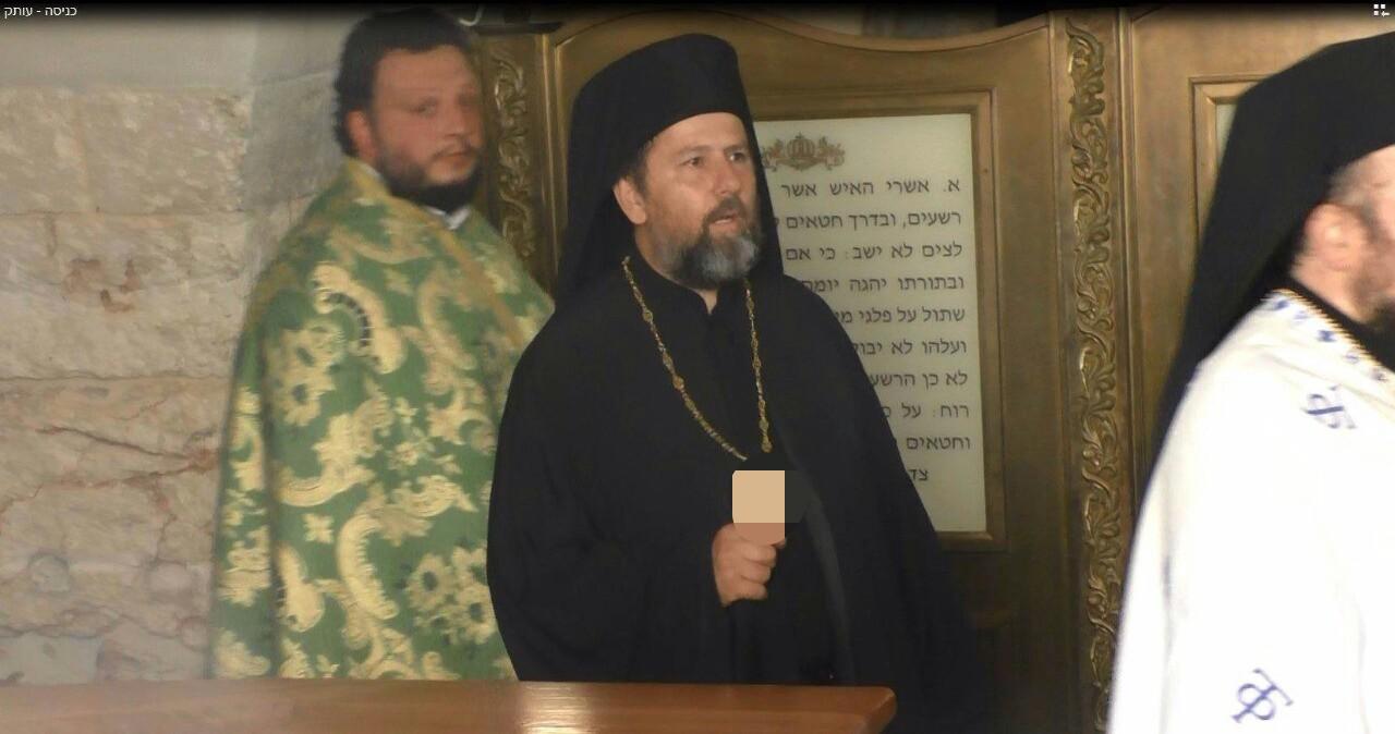 בחסות המשטרה: נוצרים חיללו את קבר דוד המלך