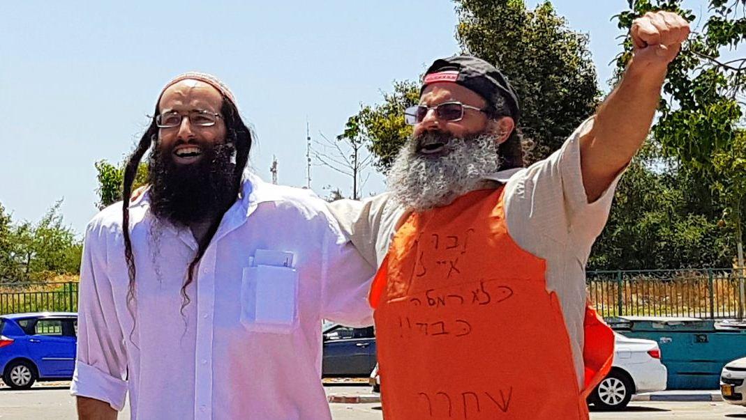בנימין ריכטר לאחר שחרורו