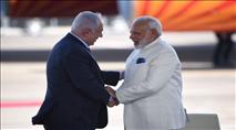 לראשונה: ראש ממשלת הודו בביקור בישראל