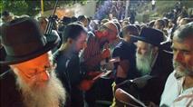 """אלפים פקדו את קברו של האר""""י הקדוש"""