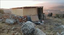 """כוחות מג""""ב פשטו אתמול על גבעת מגיני ארץ"""