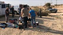 """ברכב שנמלט: בדואי שנהרג, שב""""ח ויהודיה"""