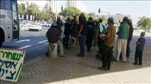 שלוש עצורות בהפגנה נגד הצווים המנהליים