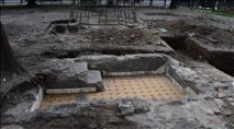 נחשפו מקוואות בית הכנסת הגדול בווילנה