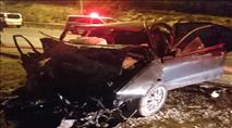 חשד: מירוץ מכוניות של ערבים גרם לתאונה קטלנית