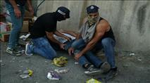 תיעוד: מעצר חוליית מחבלים שהניחה מטען חבלה