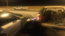 בתום מרדף: נעצרו שלושה ערבים שגנבו טרקטור