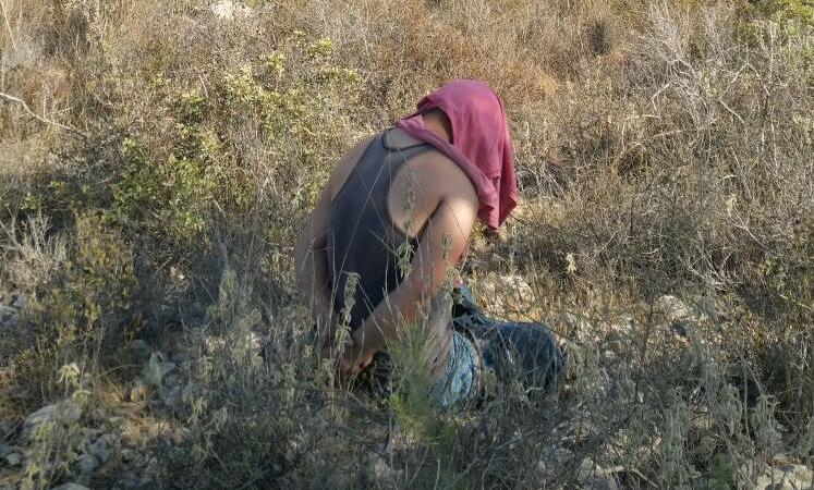 הצעיר הערבי שנעצר השבוע סמוך לנריה צילום: TPS