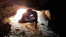 תיעוד: שודדים השמידו את המערה המסתורית במבצר החשמונאי