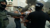 """צפו: ערבי ניסה להצית מצלמות ונעצר ע""""י מסתערבים"""