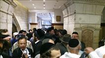 רבבות יהודים הגיעו אתמול והיום לקבר רחל