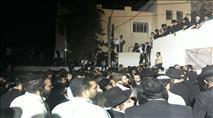 אלפי יהודים נכנסו לקבר יהושע וכלב