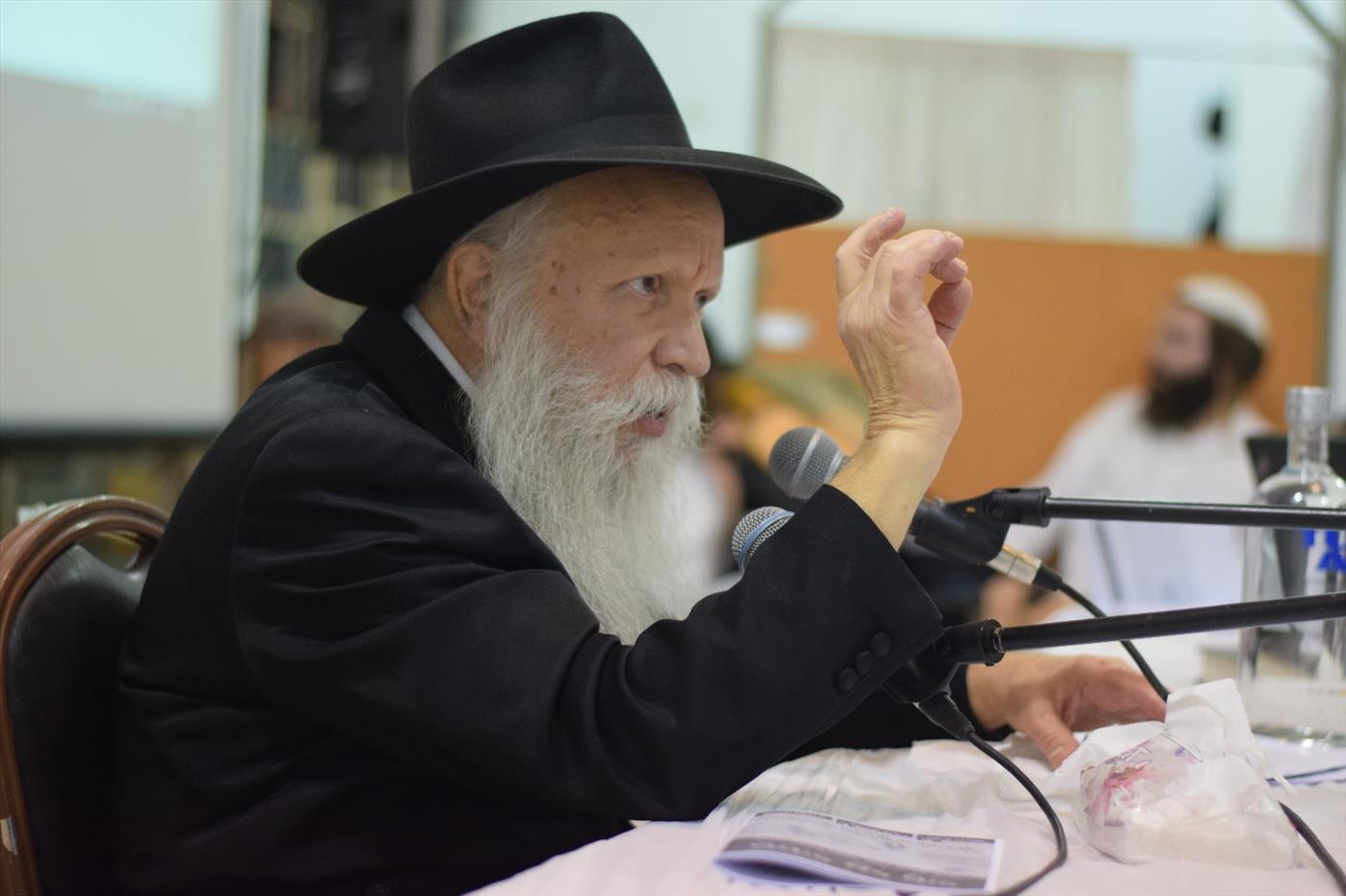 הרב יצחק גינזבורג צילום: אברהם שפירא