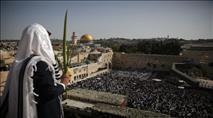 צפו: המונים בברכת כהנים בירושלים