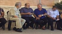 חבר כנסת ערבי השתתף בקבלת פנים לסייען פיגועים