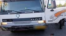 ערבי מרמאללה גנב משאית במטרה לבצע פיגוע