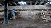נדבכים חדשים מקיר הכותל המערבי נחשפו בחפירות