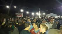 מאות השתתפו במפגן חיזוק לנתיב האבות
