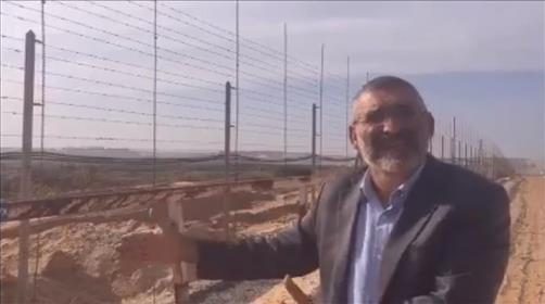 מיכאל בן ארי בגבול עזה