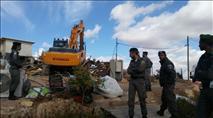 חצי שנה לאחר ההרס: משפחת לדרמן בונה בית חדש
