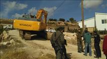 מסע הרס בנווה ארז - שני בתים נהרסו