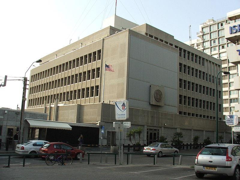 """שגרירות ארה""""ב צילום: Krokodyl"""