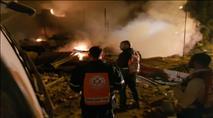 3 הרוגים בפיצוץ בית ביפו - ככל הנראה מבלון גז