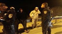 הותקפו בבקבוקי תבערה ועוכבו בידי המשטרה