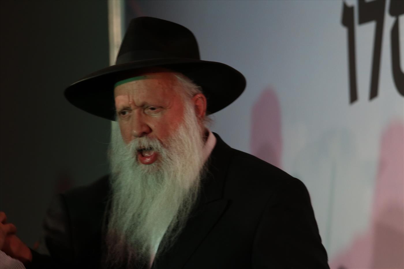 הרב יצחק גינזבורג. צילום: שלמה מלט