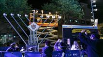 מאירים את העיר: 115 חנוכיות מרכזיות בתל אביב