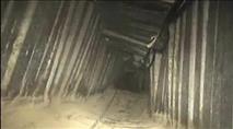 מנהרה של חמאס הופצצה הלילה ברצועת עזה
