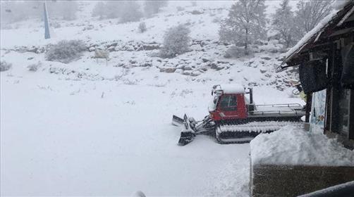 סערה בדרך - סיכוי לשלג בפסגות הגבוהות