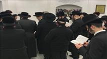 """צפו: מאות יהודים בהילולת בעל ה""""שארית ישראל"""""""