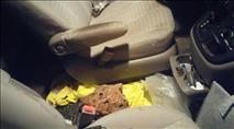 ערבים השליכו סלע לעבר רכב בשומרון