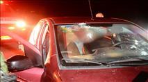 פיגוע ירי לעבר רכב בצומת הפרסה בבנימין