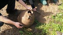 הפתעה בטיול - קנקן חרס בן 1,500 שנה